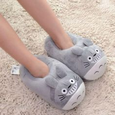 Soft Slippers, Cute Slippers, Totoro Ghibli, Totoro Merchandise, Cartoon Costumes, Mode Kawaii, Night Dress For Women, Cute Korean Girl, Studio Ghibli