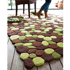 1000 images about tapis on pinterest square rugs - Tapis shaggy chocolat ...