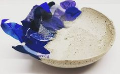 regram @interlacetextile This piece is still available in our Seconds Sale. Take a browse through our 'Seconds Sale' album on our Facebook page (link in bio) and grab yourself a unique handcrafted piece of art at the bargain price of 20 (rrp 50) #concrete #textiles #fabricmanipulation #embroidery #petals #bowl #seconds #sale