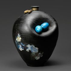 Raku Fired Ceramic Art