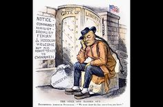 """1882 Strong anti-Chinese sentiment in California leads to the federal Chinese Exclusion Act, which suspends immigration from the East. The political cartoon above, titled """"The Only One Barred Out,"""" mocks the legislation. Chinese American, African American History, Yellow Peril, Before I Sleep, Miles To Go, Human Condition, Photo Essay, Political Cartoons, World History"""
