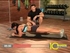10 min abs from the p90x