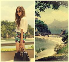 Morning after paradise (by Flávia Desgranges van der Linden) http://lookbook.nu/look/4433519-morning-after-paradise