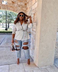 Tomboy Outfits, Curvy Outfits, Plus Size Outfits, Curvy Clothes, Thick Girl Fashion, Trendy Plus Size Fashion, Curvy Fashion, Divas, Plus Size Boutique