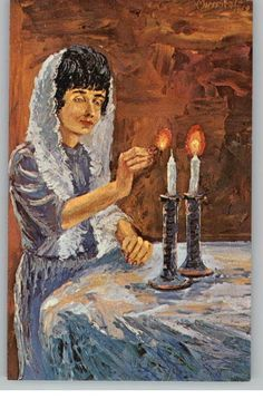 Lighting Shabbos candles...this is my most precious spiritual practice; I hope to do this until the very day I die.