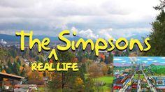 "Simpsons Creator Matt Groening Has Finally Revealed the ""True"" Springfield of ""The Simpsons"" - Springfield, Oregon"