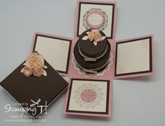 Stampin Up! Stamping T! - Cake in A Box