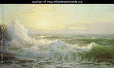 Sunlit Waves - William Trost Richards - www.williamtrostrichards.org