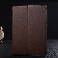 """New Fashion Flip PU Leather Case for iPad Mini/Mini 2 Retina/Mini 3 Foldable Smart Cover 7.9"""" for iPad Mini with Stand Card Bags"""