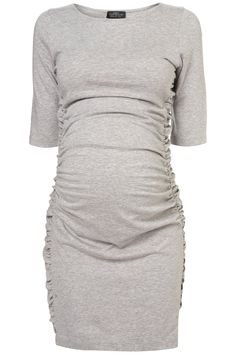 Maternity Ruched Side Bodycon Dress discovered on Fantasy Shopper Maternity Wear, Maternity Dresses, Maternity Fashion, Baby Dresses, Maternity Style, Pregnancy Wardrobe, Pregnancy Outfits, Pregnancy Clothes, Baby Bump Style