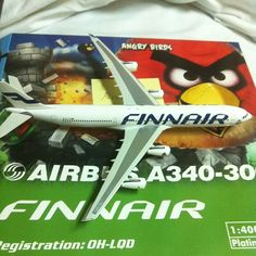 Finnair Angry Birds plane / Photo by charlesryanteo • Instagram