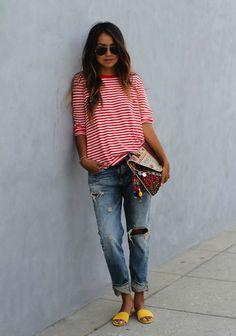 stripes...para veranito, color!