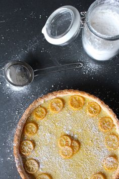 A sweet, sour tart, lovely for a spring table. It's familiar, yet exotic, with a slightly floral Meyer lemon pucker and an aromatic flair of cardamom.