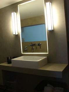 Plan de salle de douche à l'Italienne Béton ciré