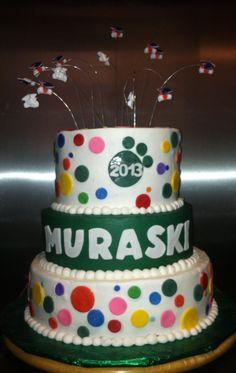 School graduation cake.
