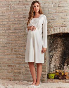 Pierre Cardin PC7285 Hamile Ve Lohusa Gecelik #markhacom #newseason #fashion #kadın #moda #yenisezon #stil #pijama #pijamatakımı #sonbahar #pierrecardin #kış