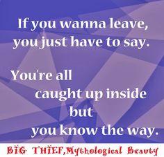 big thief, mythological beauty