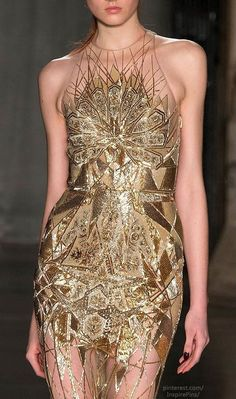 Julien Macdonald F/W 2014 Design idea for Latin