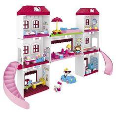 Hello Kitty Toys - Mega Bloks Deluxe Vacation Village at ToyStop