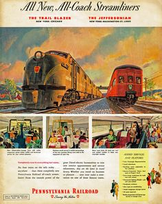 Pennsylvania Railroad, 1949