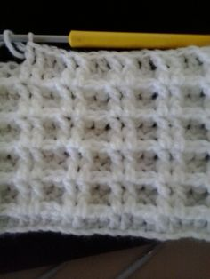 Stitches used   chain  double crochet (dc)  front post double crochet(fpdc)     Row 1  Chain to required length even number of ...