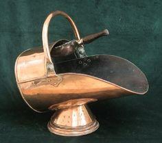 copper coal scuttle - Google Search