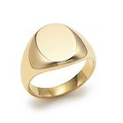 Tiffany & Co.Oval signet ring in 18k gold.  Want this monogrammed...but probably a cheaper version lol