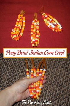From the beginning of fall through Thanksgiving, I decorate my home with autumn-themed decorations and crafts. Learn how to make Indian corn using pipe cleaners and pony beads.