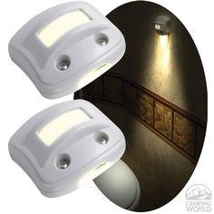 RV NightOwl Motion-Activated LED Lights - White - RV Innovations 40702 - LED Lighting - Camping World
