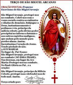ww.reza dos mal maus.com   TERÇO DE SÃO MIGUEL ARCANJO