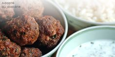 Boulettes de bœuf, sauce à la menthe : recette gourmande ET adaptée au diabète - Onmeda.fr