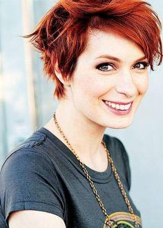 Short Red Hairstyles 1 nice short red hair Explore Cool Short Haircuts And More