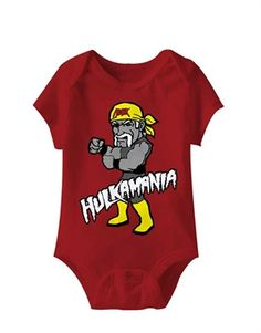 Macho Man Randy Savage Oh Yeah Baby Body Suit Wrestling Infant Romper Boy WWE