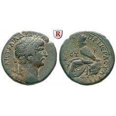 Römische Provinzialprägungen, Kappadokien, Tyana, Hadrianus, Bronze Jahr 20=135/6 n.Chr., ss/ss+: Kappadokien, Tyana. Bronze Jahr… #coins
