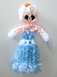 Rainbow Loom Disney Princess Elsa