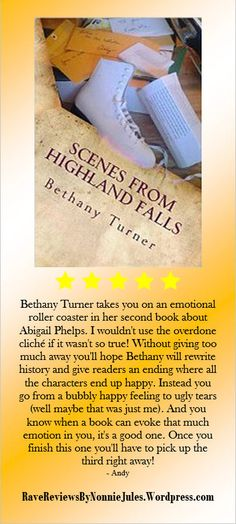 5-Star Review: Scenes from Highland falls a novel by Bethany Turner #RRBC.
