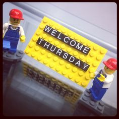 #TGIT #Thrusday #Welcome