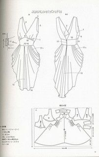 DRAPE DRAPE 1 BY HISAKO SATO - JAPANESE SEWING PATTERNS BOOK - ELEGANT AND GORGEOUS DREPE DRESS PATTERN 21 | Flickr - Photo Sharing!