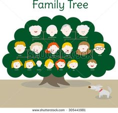 stock-vector-a-family-tree-of-both-the-parents-side-at-the-top-are-the-grandparents-at-the-middle-are-the-305441981.jpg (450×431)