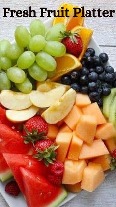 Healthy Breakfast Recipes, Easy Healthy Recipes, Great Recipes, Healthy Snacks, Snack Recipes, Healthy Eating, Fresh Fruit, Food Fresh, Fruit Dishes