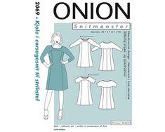 Kleid im Corsagen-Schnitt, Schnittmuster ONION 2069