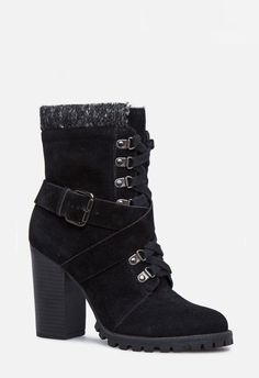BETHANY BOOTIE in Black - Get great deals at JustFab Great Deals 090bc73d9