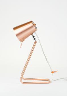 Wunderbare Tischlampe Z Copper von Leitmotiv   designupdate.de