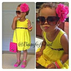 summer time outfit for little girls | Summer outfit idea for little girl