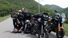 """A group of motorcyclists tour Thailand with company """"Asia on Wheels."""""""
