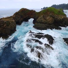 Photo by @TimLaman. Waves crash over the rocks and surge through a natural arch near Punta Hermosa off the Pacific side of Coiba Island, Panama.  Together with my colleague @ChristianZiegler, I am working on a photo essay to celebrate Coiba National Park and its amazing biodiversity.  #Coiba, #Panama, #conservation, @thephotosociety, @iLCP_photographers, @natgeocreative, @TimLaman.