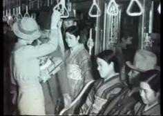 昭和8年。大阪市営地下鉄車内。