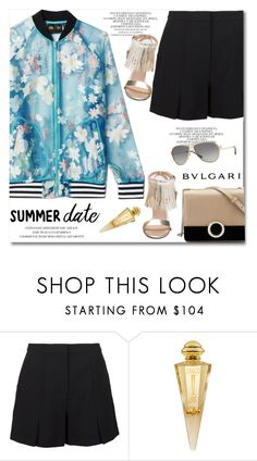 """Summer date"" by gifra ❤ liked on Polyvore featuring adidas Originals, T By Alexander Wang, Bulgari and Jivago"