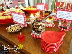 Festa do vermelho & branco: degustação de molhos americanos