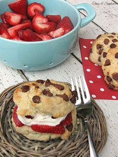 Chocolate Chip Strawberry Shortcake.